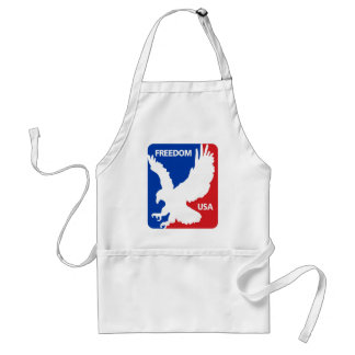 Freedom Eagle July 4th Apron