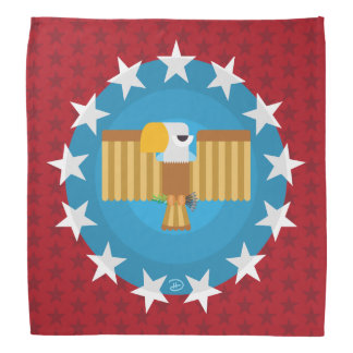 Freedom Eagle (Red) - Bandana