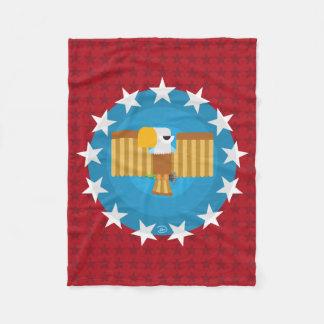 Freedom Eagle (Red) - Fleece Blanket