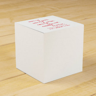 FREEDOM... FAVOUR BOXES