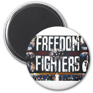 freedom fighters banner logo products magnet