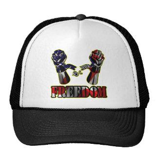 Freedom Flag Broken Chains Mesh Hat