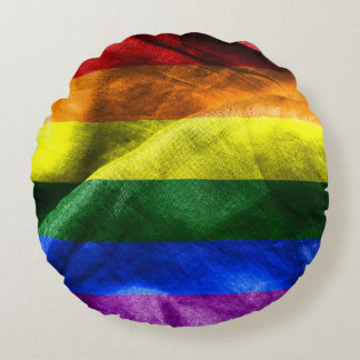 Freedom Flag Round Cushion