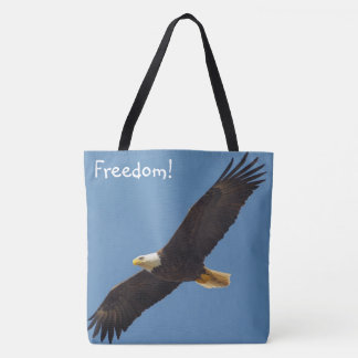 Freedom Flying Eagle Tote Bag