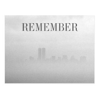 Freedom Fog postcard - Remember