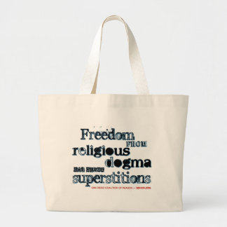 Freedom from Religious Dogma Bag