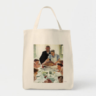 Freedom From Want Canvas Bag