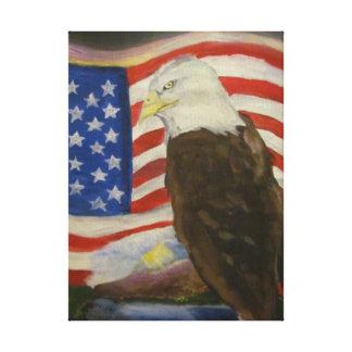 Freedom Gallery Wrap Canvas