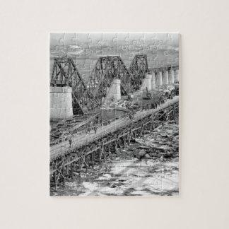 Freedom Gate Bridge spanning_War Image Jigsaw Puzzle