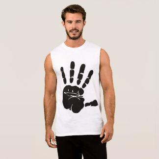 Freedom hand sleeveless shirt