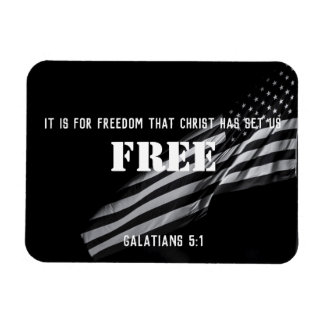 Freedom in Christ Magnet