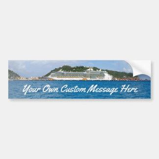 Freedom in St. Maarten Custom Bumper Sticker