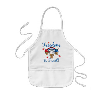 Freedom Is Sweet Aprons