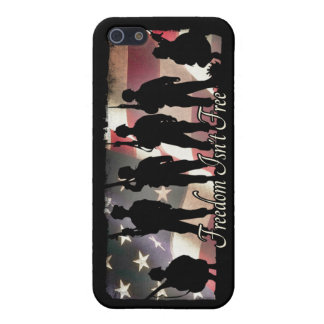 Freedom Isnt Free Military Soldier Silhouette iPhone 5 Case