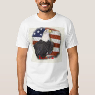 Freedom, it doesn't come by sitting around tees