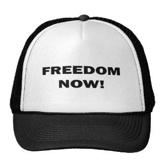 Freedom Now! Trucker Hats