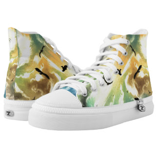 Freedom Of Birds High Tops