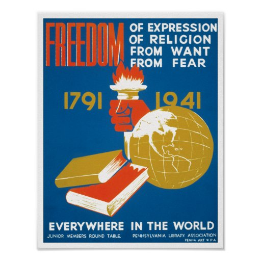 Freedom of Expression Posters