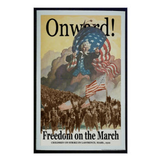 Freedom on the March -- Pro-Union Poster