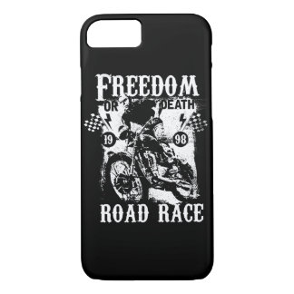 Freedom or Death Glossy Phone Case