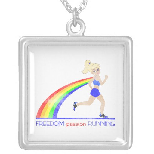 FREEDOM passion RUNNING Necklace