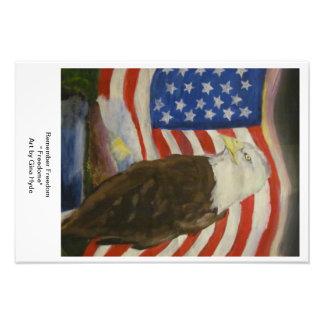 Freedom Photo Print