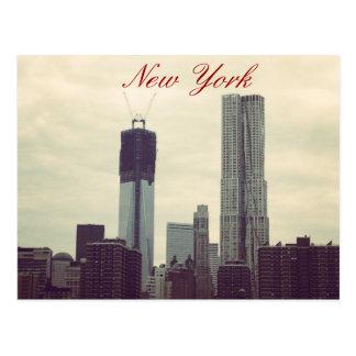 Freedom Skyline Postcard