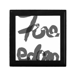 Freedom Small Square Gift Box