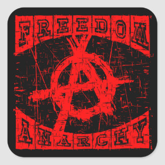 freedom square sticker