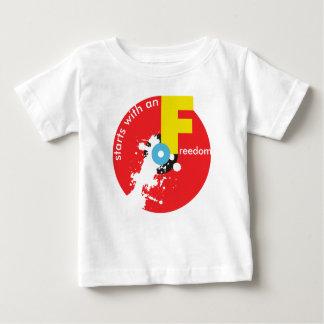 Freedom Starts infant t-shirt