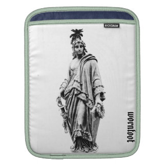 freedom statute, american, woman, wornfoot sleeves for iPads