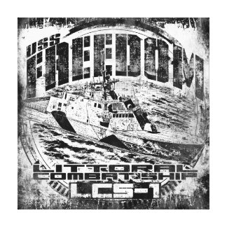 Freedom Stretched Canvas Print