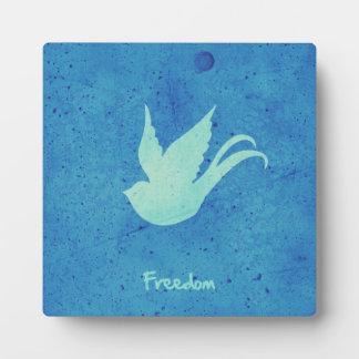 Freedom swallow plaque