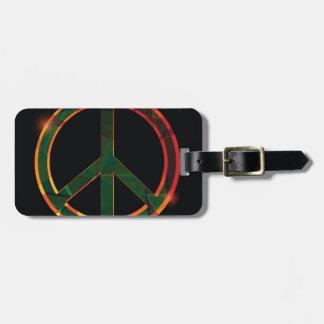 freedom symbol luggage tag