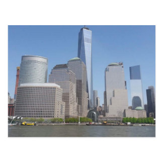 Freedom town in NYC Postcard