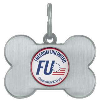 Freedom Unlimited Pet Tag