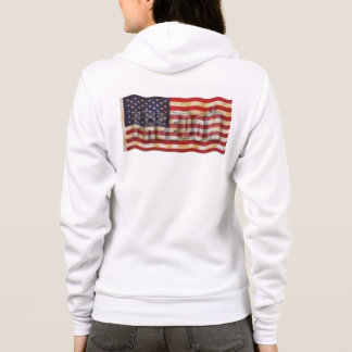 Freedom USA American Flag Women's Hoodie