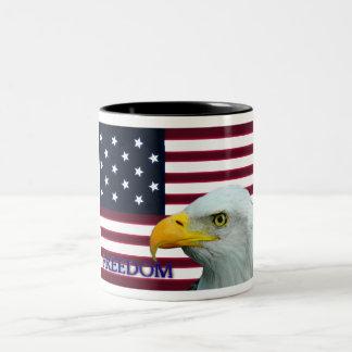 Freedom USA Eagle mugs