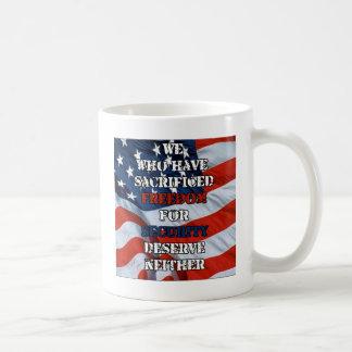 Freedom vs Security Mugs