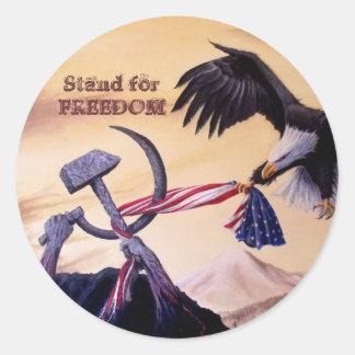 """""""Freedom's Battle""""  sticker"""