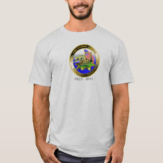 Freedom's Fortress with Dates T-Shirt