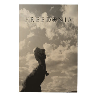 Freedonia Wood Panel - Dinosaur
