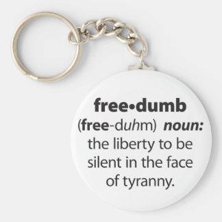 Freedumb Key Chain