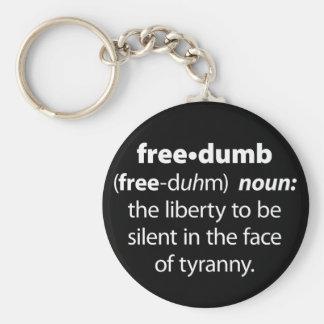 Freedumb Keychain