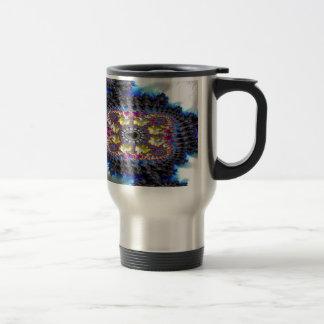 Freehand Stancher Fractal 2 Travel Mug