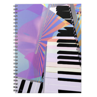 Freeing Keyboard Music Note Book