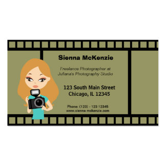 Freelance Photographer Business Card Templates