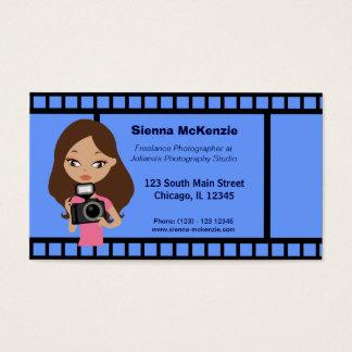 Freelance Photographer Business Card