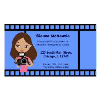 Freelance Photographer Business Card Template