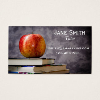 Freelance tutor or teacher for any subject business card